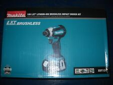 Makita XDT131 18V LXT Lithium‑Ion Brushless Cordless Impact Driver Kit 3.0Ah BAT