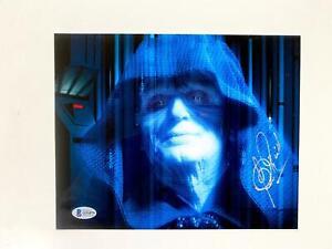 Clive Revill Signed Star Wars 8x10 Photo Beckett BAS COA Emperor Palpatine Auto