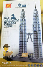 Lego® Compatible Architect Series Petronas Towers 1160 pcs FREE US SHIP