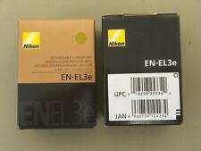 2 Batteries for $30, New In Box, Nikon OEM EN-EL3e Camera Battery