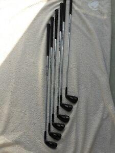 Callaway Apex Black irons 5-PW R elevate 95 shafts
