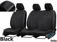 Vauxhall Vivaro Elite 2019 2020 ARTIFICIAL LEATHERS TAILORED FRONT SEAT COVERS