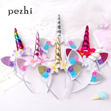 Girls Cute Unicorn Headband Children Headwear Party Hair Hoop Hair Accessories