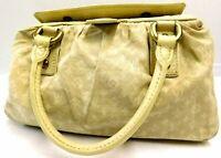 Louis Vuitton Monogram Mini Lin Trapeze PM Hand bag Auth Beige M40061