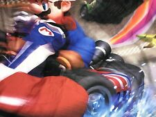 Mario Kart Wii Double Size Duvet Only Bedding Cover Nintendo Character World HTF