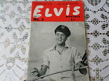 Vintage Elvis fan club magazine Forth series  February issue No 2 1963 Pop/ Rock