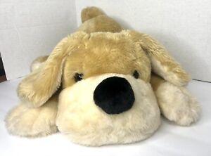 "Dog Plush FAO Schwarz Hound Large Stuffed Animal Lovey Puppy Patrick Pup 22"""