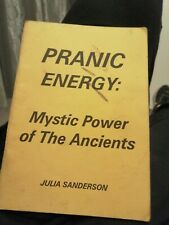PRANIC ENERGY mystic power of the ancients by Julia sanderson Finbarr  Occult