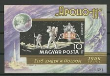 Raumfahrt, Space, Apollo - Ungarn - Bl.72 B ** MNH 1969