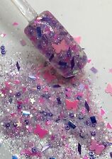 glitter mix acrylic gel nail art    BUTTERFLY MOMENTS  limited edition