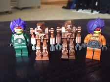 4 Lego Exo Force Rare Hikaru Ryo Robots 7706 5966 7700 Lot 5 Spiked Hair Purple