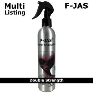 F-JAS Air Freshener Odour Eliminator 300ml Spray. DOUBLE STRENGTH for Car & Home