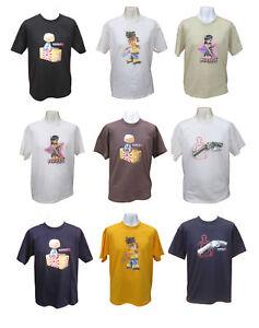 Mens Japanese Street Tokyo Manga Clothing Anime Cartoon Retro Vintage T-shirt