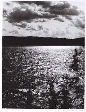 Fine Art Photography - Smoothwater Lake -Temagami (Ontario) - S/N Silver gelatin