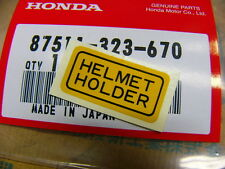 Honda CB 125 175 200 250 450 650 750 Mark tête casquée Holder ORIGINAL NEUF