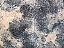Patchworkstoff, blau, weiß, Camouflage, nähen, NEU