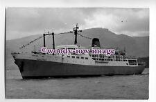 LP0153 - Liner - Marco Polo , built 1965 ex Aleksandr Pushkin -photograph Duncan