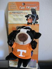 """""""College Mascot""""Tennessee Vols Fun Friends Plush Flip-style Cell Phone Cover NEW"""
