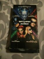 Batman & Robin VHS 1997