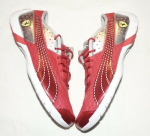 Puma Future Car Superlt Ferrari Fashion Sneaker Men's 8.5 Red
