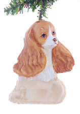 Cocker Spaniel Personalized Christmas Ornament - Your choice of name  (D295)