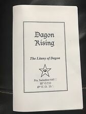 Dagon Order,Cthulhu Grimoire, H P LoveCraft,Michael Bertiaux,occult,esoteric,OTO