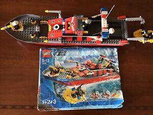 Lego 7906 Fireboat Barca Pompieri