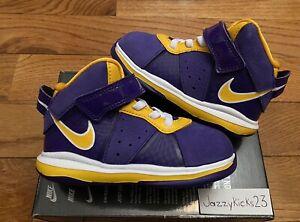 Nike Lebron 8 (Lakers) Size 7C