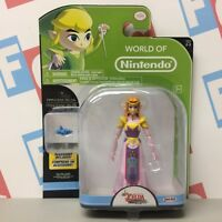 "Jakks Pacific Zelda Windwaker World of Nintendo 4"" World 2-2 Princess Zelda"