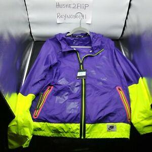 NEW Nike Wild Run Shield Full Zip Running Jacket Purple BV5615-547 Men Sz Medium