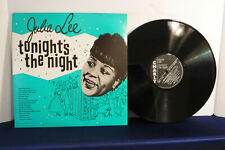Julie Lee, Tonight's The Night, Charly Records CRB 1039, 1982, Jump Blues, R&B