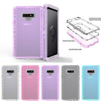 For Samsung Galaxy S10S8S9S7Plus/Note89 Clear Protect Defender Cover Hybird Case