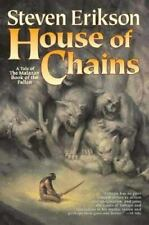 Steven Erikson House of Chains, Malazan 4, Hardcover Book Club Edition VG