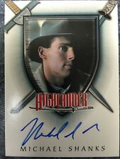 The Complete Highlander A12 Michael Shanks as Jesse Collins Autograph Card Auto