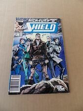 Nick Fury , Agent of S.H.I.E.L.D 1 . Marvel .1989 -  FN +