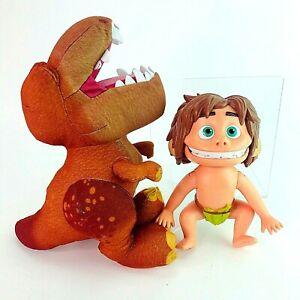 Disney The Good Dinosaur Talking Spot Boy and Butch T Rex Toys TOMY