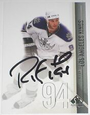 RYAN SMYTH SIGNED 10-11 UPPER DECK SPA LOS ANGELES KINGS CARD AUTOGRAPH AUTO!!!