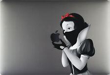 """Apple The Macbook 12"""" Ninja Snow White Revenge Assassin decal sticker"""