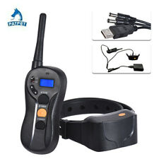 Dog Training Collar Bee Remote Rechargeable IPX7 Waterproof Safe Harmless NEW