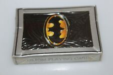 BATMAN COLLECTOR PLAYING CARDS  promo promotional MICHAEL KEATON