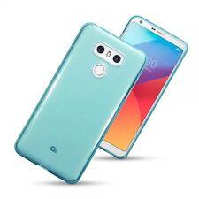 LG G6 Slim Rugged Composite Enhanced Gel Cover Case Blue