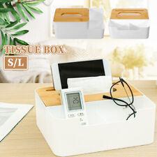 Tissue Box Toilet Paper Cover Storage Case Napkin Holder Home Office Car