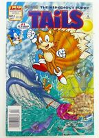 Archie SONIC THE HEDGHOG: TALES (1995) #1 Rare NEWSSTAND VF Ships FREE!