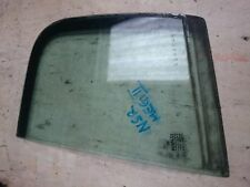 RENAULT MEGANE 03-08 nearside passenger rear quarter glass (5 door)
