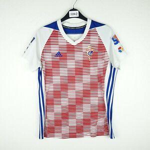 Górnik Zabrze 2018 Football Shirt Sponsorless Size Womens Medium (1042)