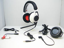 Plantronics RIG White Gaming Headset with Mixer for Xbox 360 PS3 PS4 and PC/Mac