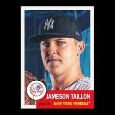 2021 TOPPS LIVING SET # 452 JAMESON TAILLON New York Yankees