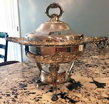 """Antique Baroque by Wallace Silver Serving Tureen in Excellent Condition 15""""x13"""""""
