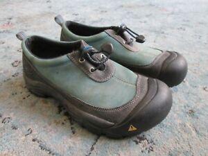 Women's KEEN DAKOTA RAIN Mud Shoes Slip On Waterproof Nubuck 8.5