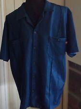 ROCKABILLY RETRO mans shirt heavy fabric special make 102cm chest quality shine